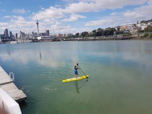 New Zealand SUP Rescue Board Demo